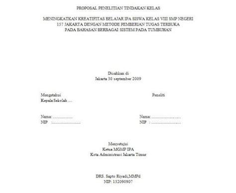 format proposal penelitian dikti format makalah dikti contoh lembar halaman pengesahan