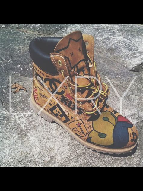 unisex timberland boots by phntm on etsy