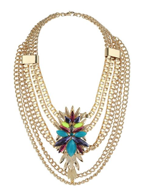 Mirror Pendant Necklace From Miss Selfridge by Statement Necklaces From Miss Selfridge Fashionmommy S