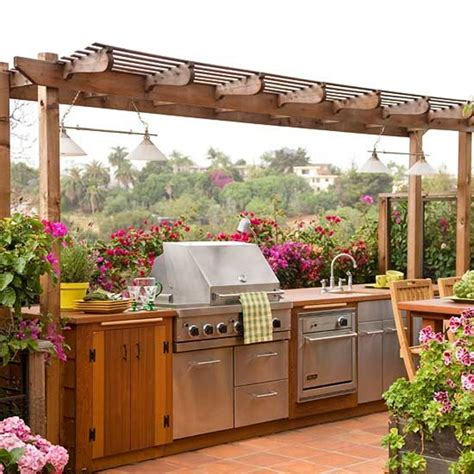outdoor kitchen pictures and ideas 20 beautiful outdoor kitchen ideas 101 recycled crafts