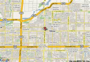 mesa arizona map pictures to pin on pinsdaddy