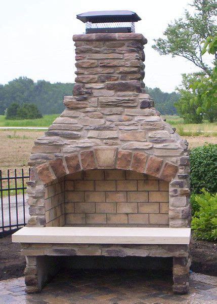 best outdoor fireplace kits best 25 outdoor fireplace kits ideas on