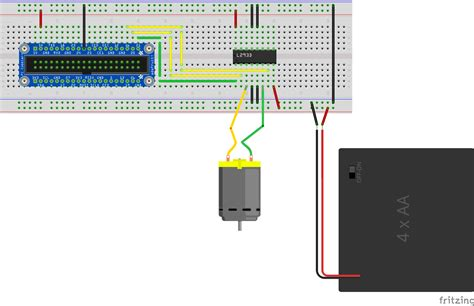 windows iot bi directional dc motor falafel
