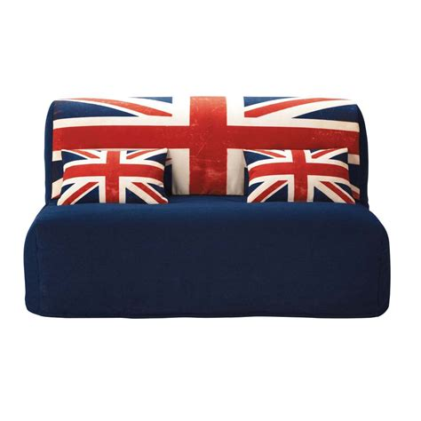 union jack sofa cotton z bed sofa cover with union jack print elliot