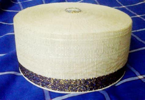 Peci Kopiah Asli Rotan 001 sarungbugis masagena songkok recca biru emas limited