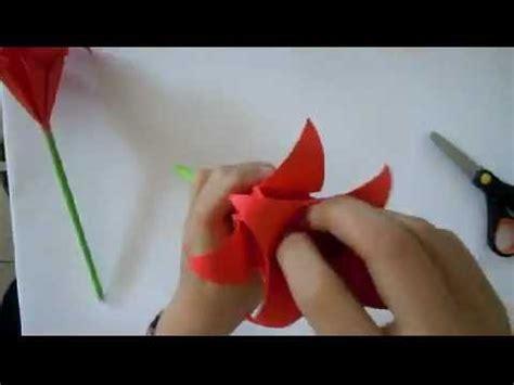 Tutorial Origami Bunga - origami bunga mp4