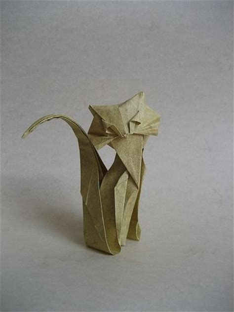 Origami Dollar Cat - 650 best images about origami on