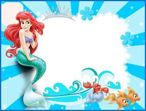 pin the on the mermaid template pin the on the mermaid template ariel invitaciones para