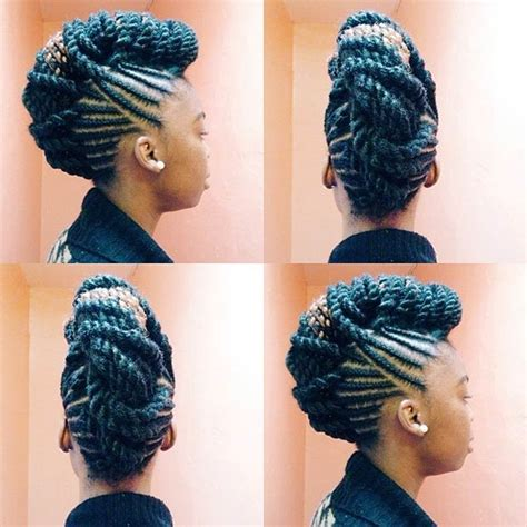 Front Twist Hairstyle by Front Twist Hairstyles Hairstylegalleries
