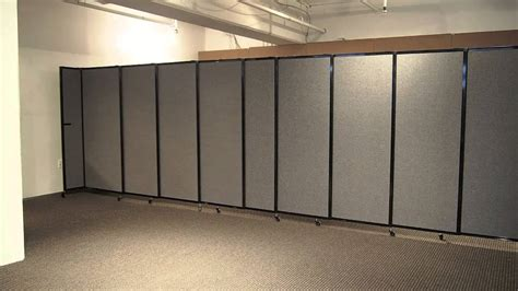 Wall Room Divider Wall Mounted Straightwall Partition Room Divider By Versare