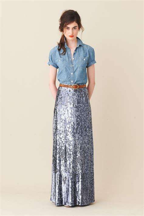 the sequin maxi skirt glitter inc glitter inc