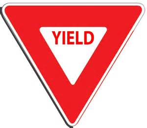 what color is a yield sign 404 not found