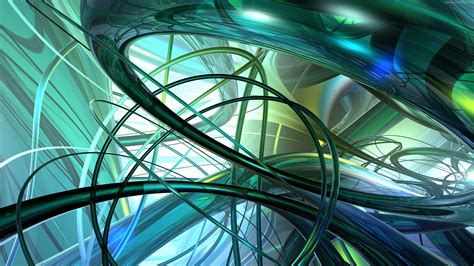 abstract wallpaper ultra hd 3d green abstract picture 4k