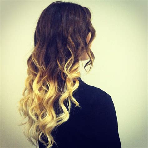 dyed hairstyles for brown hair green dip dyed hair hair colors ideas