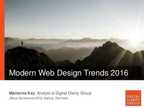 homepage design 2016 modern web design trends 2016