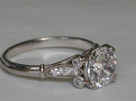 antique wedding rings atlanta gems crystals unlimited edwardian engagement ring set