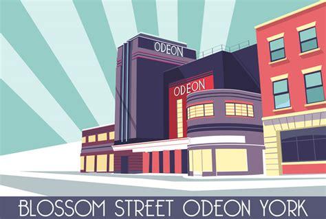 Odeon Cinema Gift Card - prints of york illustrations of york photography prints