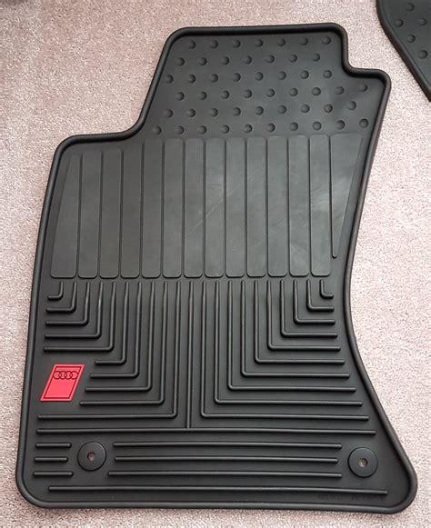Oem Audi Parts by Audi A4 B5 A4 S4 Oem Audi Sport Rubber Floor Mats Set Of