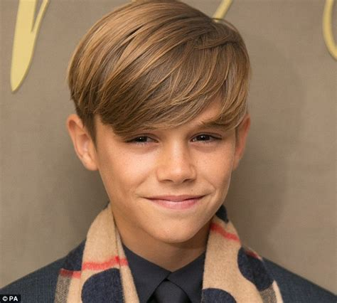 romeo beckham how old david beckham devastated and relieved that son romeo no