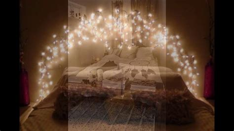 cool string lights ideas   bedroom youtube