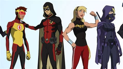 comic   young justice season   character designs revealed   character
