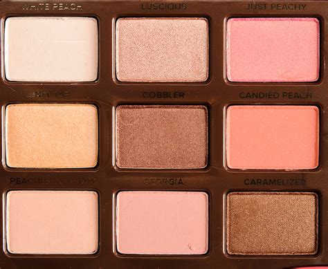 Eyeshadow Faced faced sweet eyeshadow palette review photos swatches