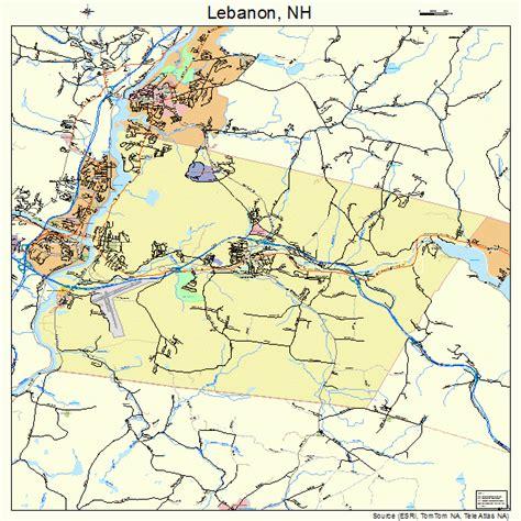lebanon new hshire lebanon new hshire street map 3341300