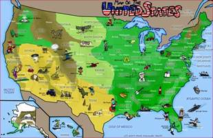 map of the united states by freyfox on deviantart