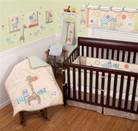 Animal Crib Bedding by Sumersault Animal Spots And Stripes Baby Bedding Baby