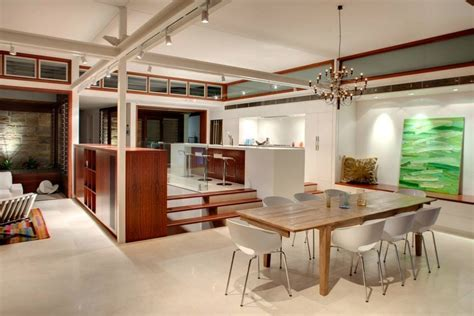 waterfront home kitchen design dining table kitchen modern waterfront home in sydney