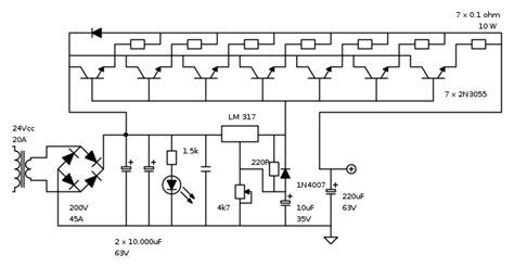 transistor 2n3055 in parallelo modifica schema alimentatore pag 5 il forum di electroyou