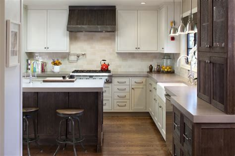 two colored kitchen cabinets 35 two tone kitchen cabinets to reinspire your favorite