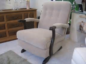 Victorian Rocking Chair Styles Platform Rocker Upholstered 1950 S Collectors Weekly