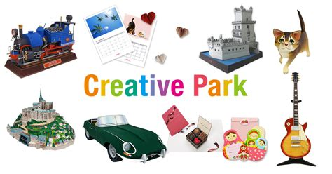 Creative Park Papercraft - paper craft canon creative park