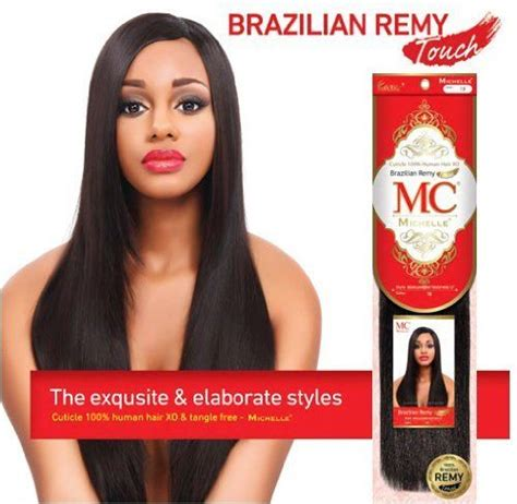 belle 100 tangle free premium human hair 18 color 1 michelle human hair blend weave brazilian remy touch yaki