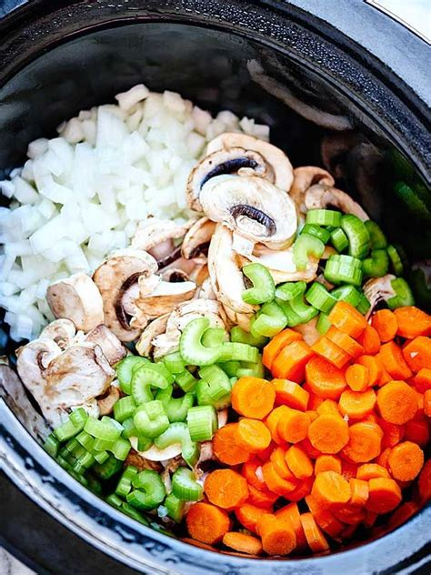 this crockpot chicken wild rice soup is such an easy recipe it s also healthy full of tender