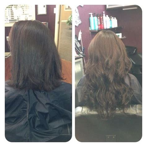klix hair extensions before after klix hair extensions yelp