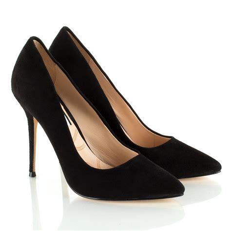choi black therese s stiletto court shoe