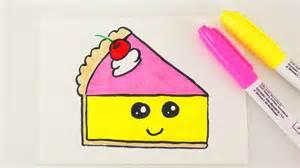 kuchen zeichnen kawaii cake diy niedlichen kuchen zeichnen f 252 r