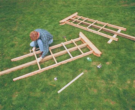 How To Build A Patio Trellis ? Outdoor Decorations