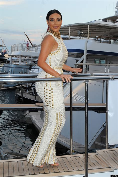 yacht attire kim kardashian s rope dress was made for a cannes lions