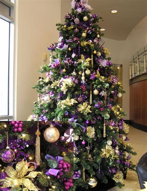 purple christmas tree christmas decor ideas pinterest