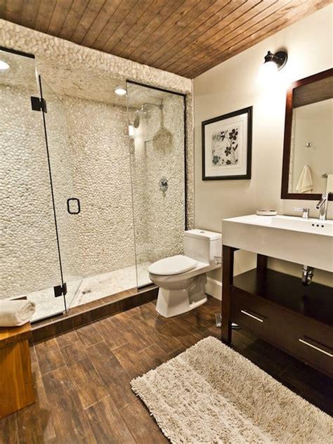 Pebble Tiles For Bathroom by Zen Paradise Pebble Tiles Installations