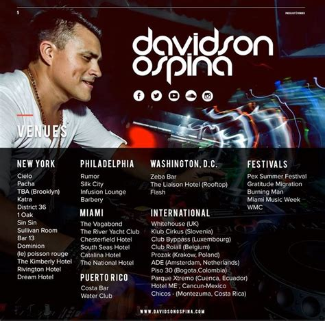 Band Epk Template by 7 Best Davidson Ospina 2016 Epk Press Kit Images On