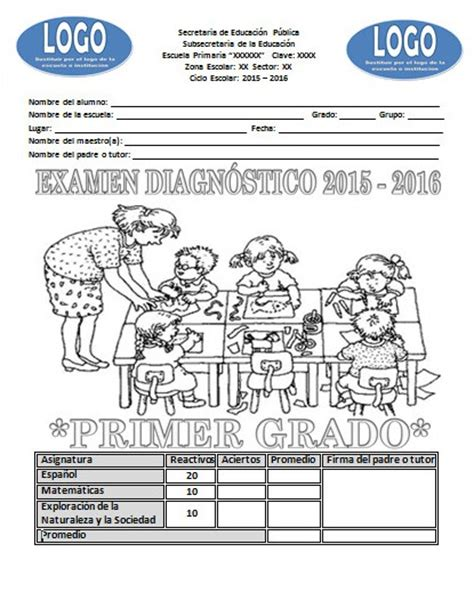 preguntas tipo test javascript examen de diagn 243 stico del primer grado del ciclo escolar