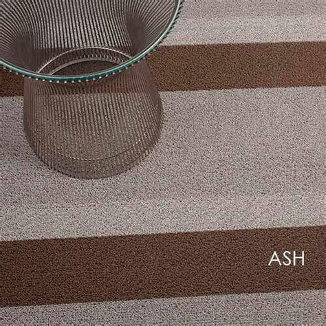 Chilewich Mat Sale by Chilewich Shag Bold Stripe Rug 4 Colors