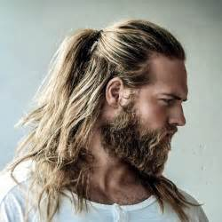 Long hair can be matched with some beard