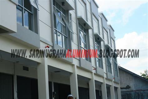 Harga Clear Glass 5 Mm sari nugraha aluminium kaca construction kusen aluminium