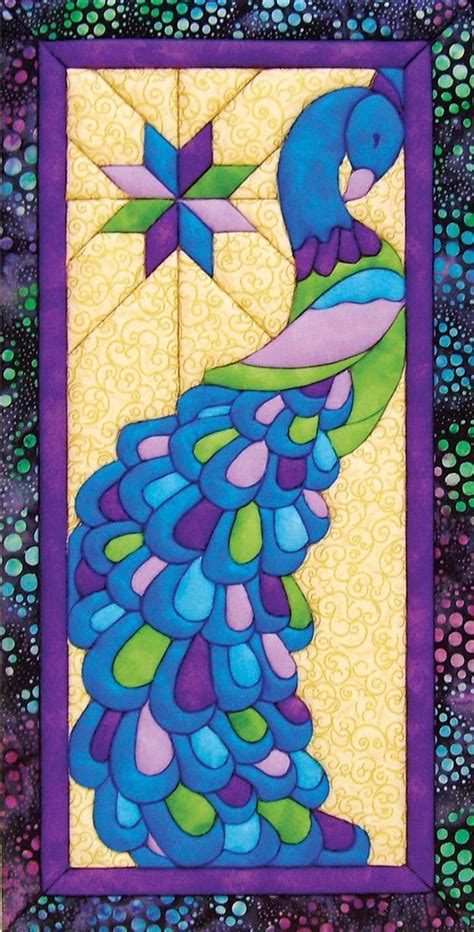 quilt pattern peacock peacock quilt quilt and punch on pinterest