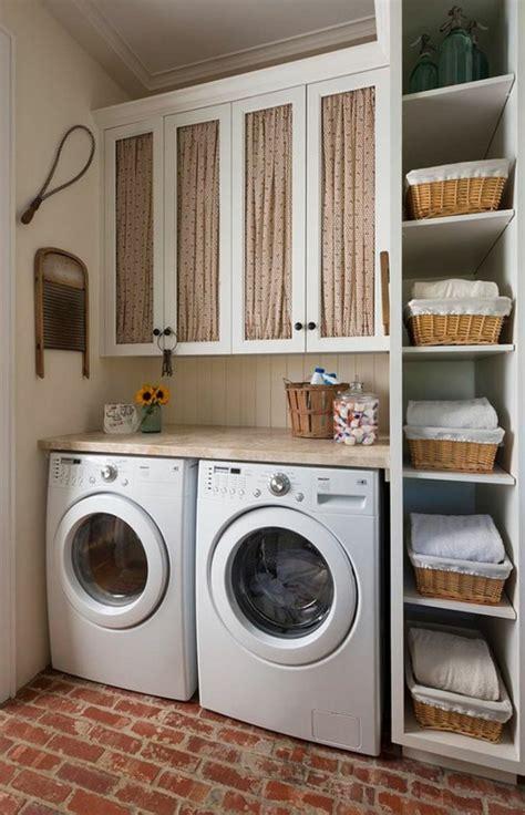 Lave Linge Pour Petit Espace by 1001 Id 233 Es Comment Am 233 Nager Sa Buanderie Fonctionnelle